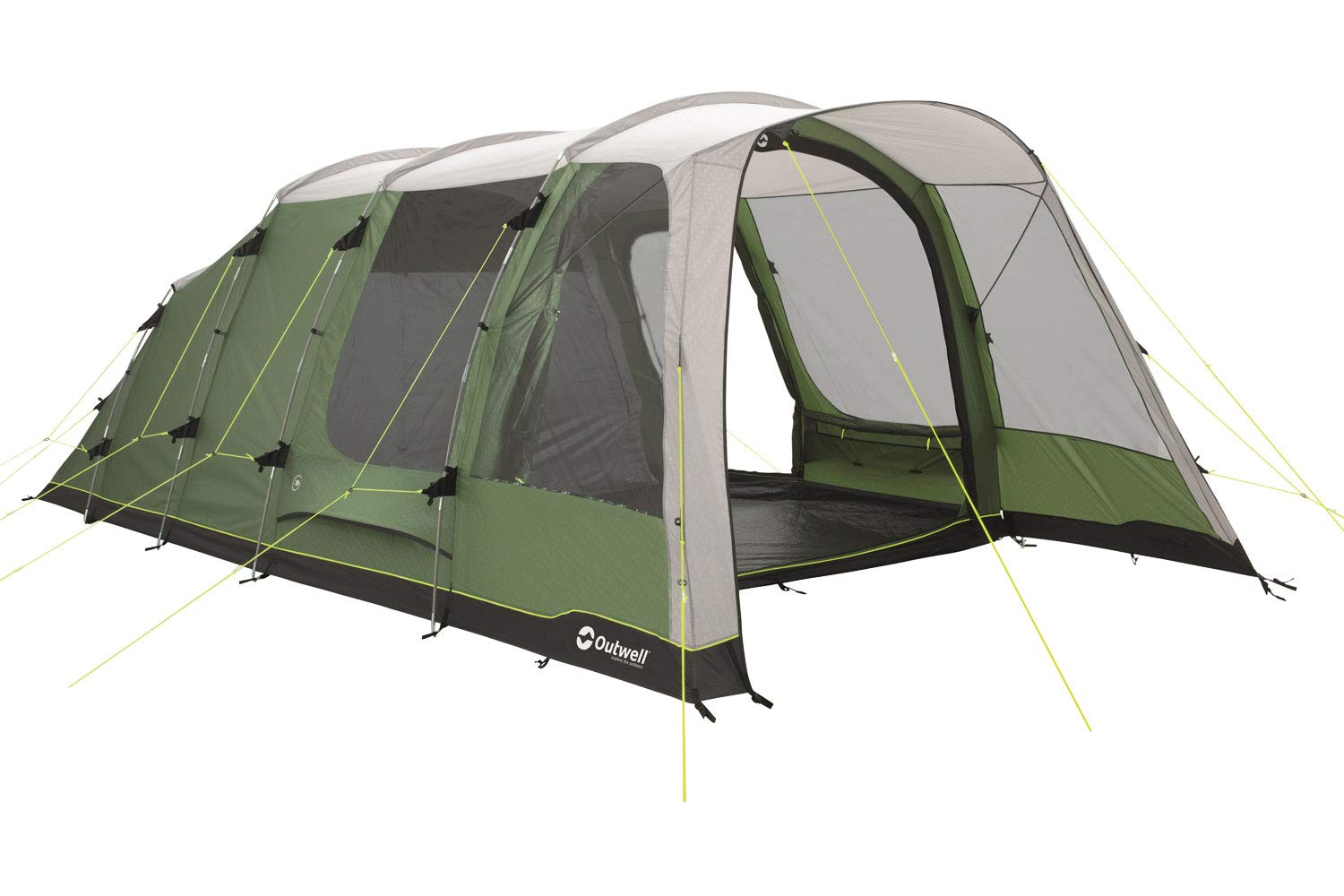 super popular e48a9 9acc0 Outwell Willwood 5 Person Group Tent Black, Camouflage ...