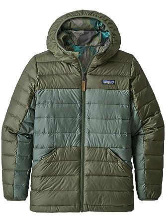 Patagonia Kinder Jacke Reversible Down Sweater Hooded Jacket
