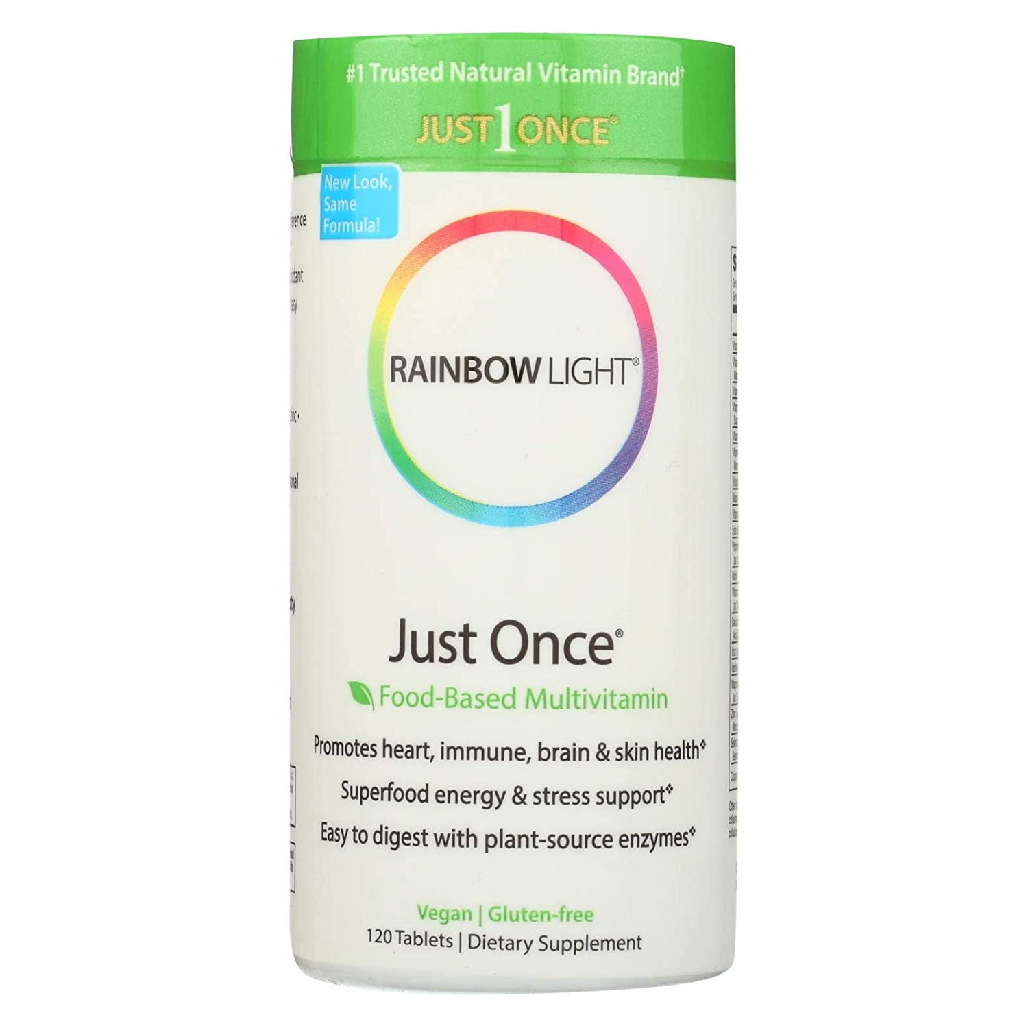 Rainbow Light Just Once, 120 ct