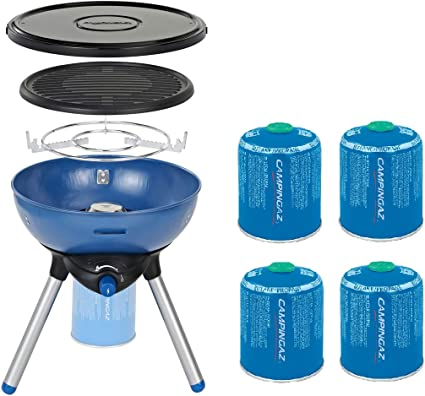CAMPINGAZ Party Grill 200 Gas Stove + Free CV470 Plus Gas
