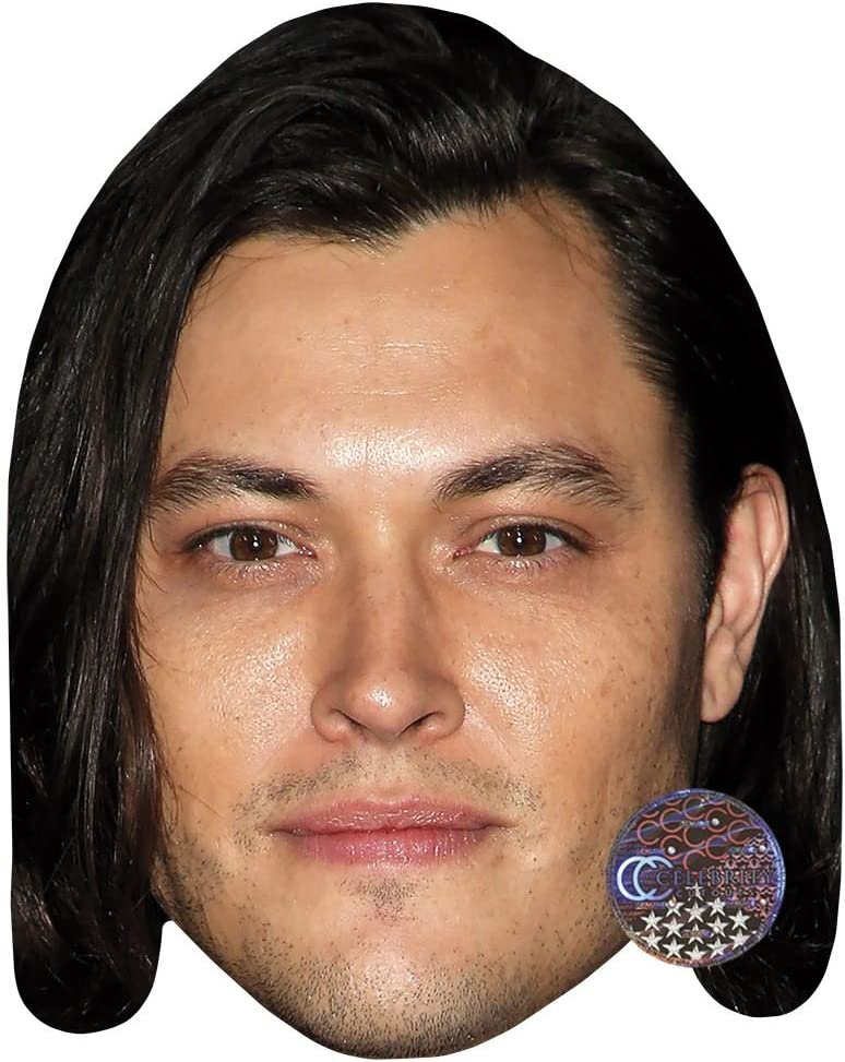Card Face and Fancy Dress Mask Blair Redford Celebrity Mask