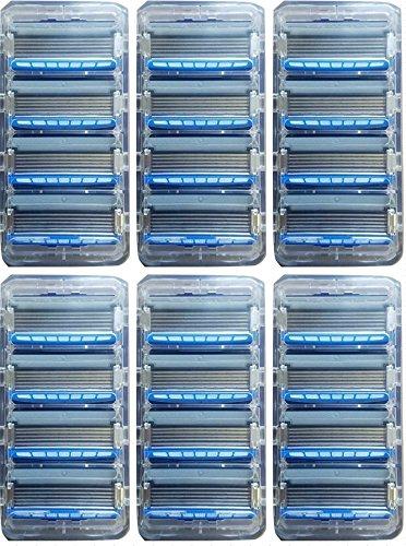Schick Hydro 5 Sense Hydrate Refill Razor Blade Cartridge Lot of 24 Bulk by Schick Razor