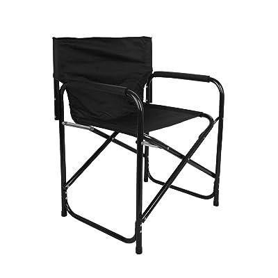 Mountain Warehouse Chaise de camping Directors - Tabouret portable ...