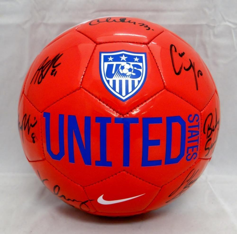 US Women s Autographed F S Team USA Nike Soccer Ball w  9 Signatures- W  Auth - JSA Certified - Autographed Soccer Balls at Amazon s Sports  Collectibles ... 48b674ad7