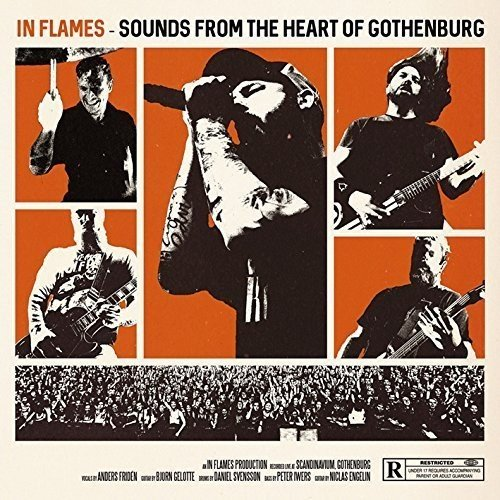 Blu-ray : In Flames - Sounds From The Heart Of Gothenburg (Holland - Import, 4 Disc)