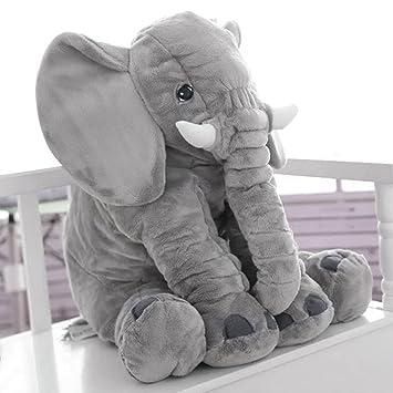Baby Sleeping Pillow Long Nose Elephant Soft Plush Stuffed Toy Xmas Cuddly Dolls