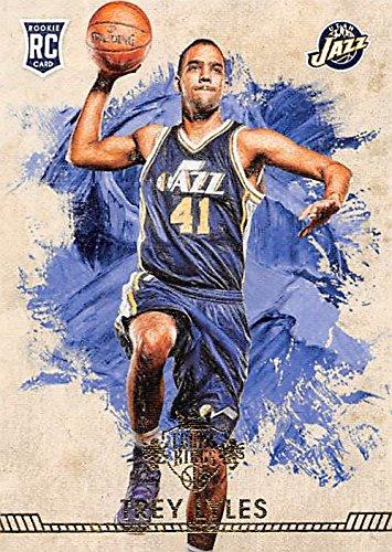 Trey Lyles basketball card (Utah Jazz) 2015 Panini Court Kings #143 Rookie by Autograph Warehouse