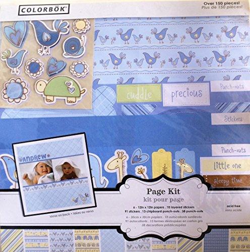 - Colorbok Baby Boy Page Kit