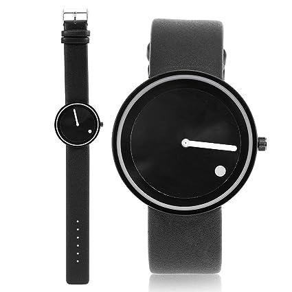 14398051fad0 Sonew Reloj de pulsera para amantes parejas Reloj de pulsera de cuarzo  casual de estilo