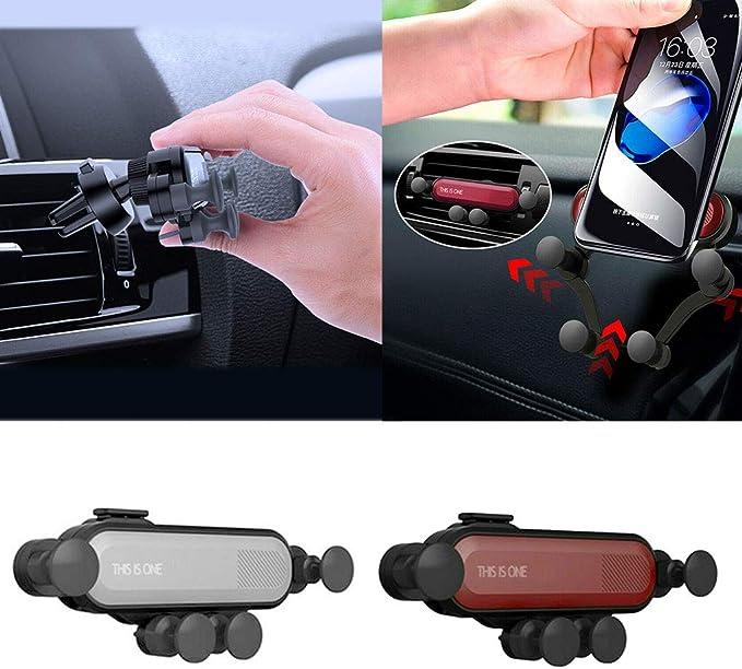 Zerama Auto Air Vent Grip Gravity Phone Holder Universal ...
