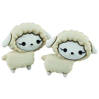 f738e3957 The Funky Barcode FIELD FRIENDS SOPHIE SHEEP STUD EARRINGS Gift Box  Available: Amazon.co.uk: Jewellery