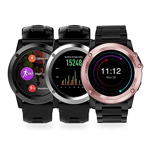 Negro H1 IP68 impermeable Wifi Bluetooth SmartWatch 4 GB CAM ...