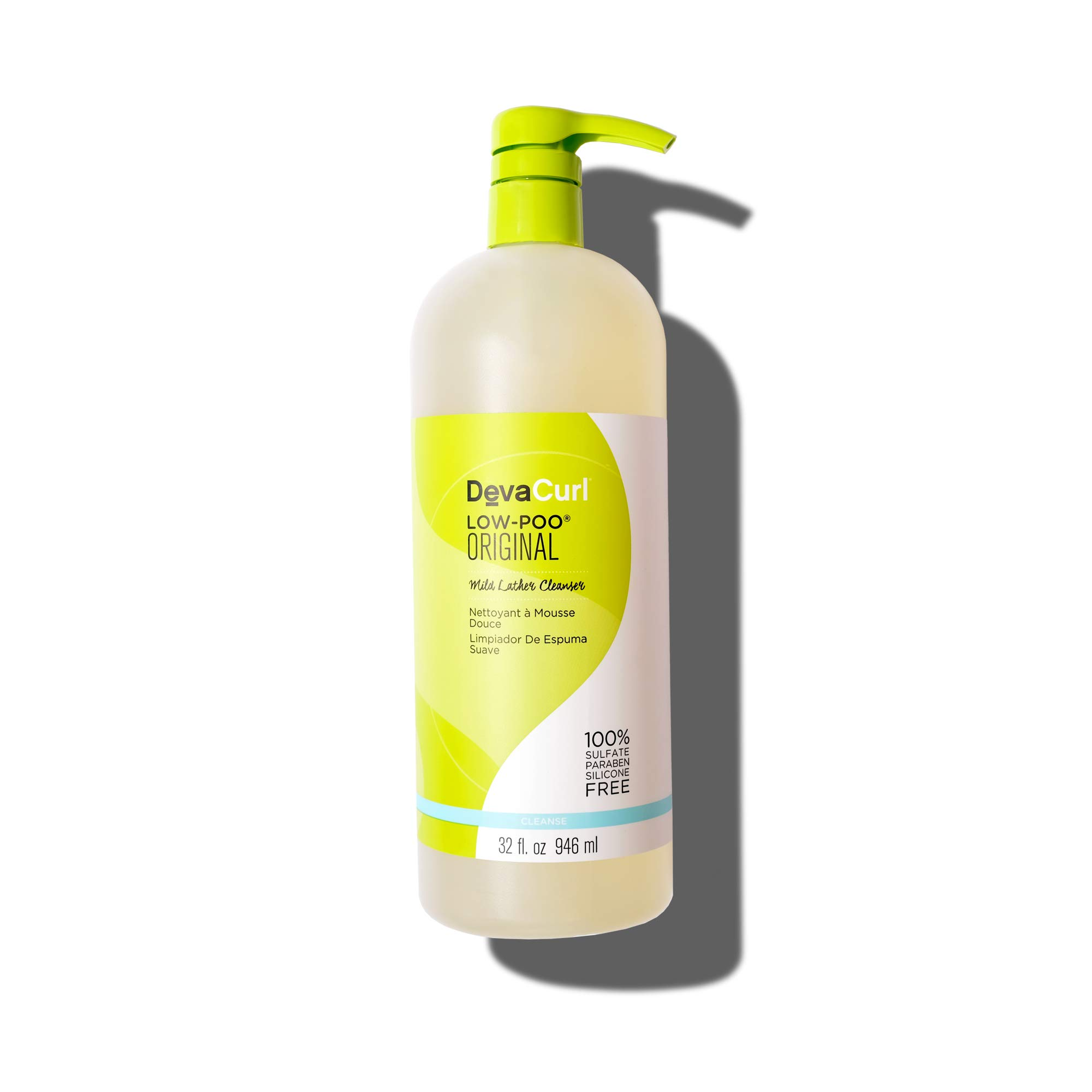 DevaCurl Low Poo Mild Lather Cleanser; 32oz by DevaCurl