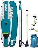 Jobe Aero YARRA 10'6 (2017 Series) Inflatable SUP Package with Backpack, HP Pump, Gauge, Paddle, Leash & BONUS Cell Phone Case.