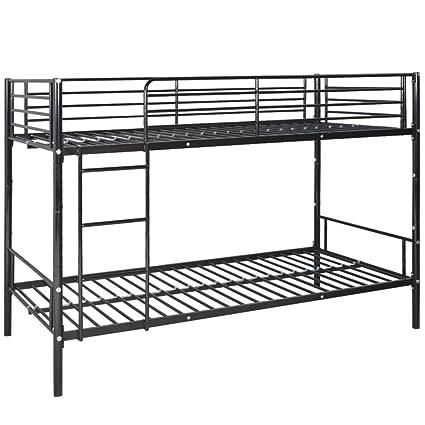 Fijo Night Niños Litera metal marco de cama cuna cama Stock 208 x 96 ...