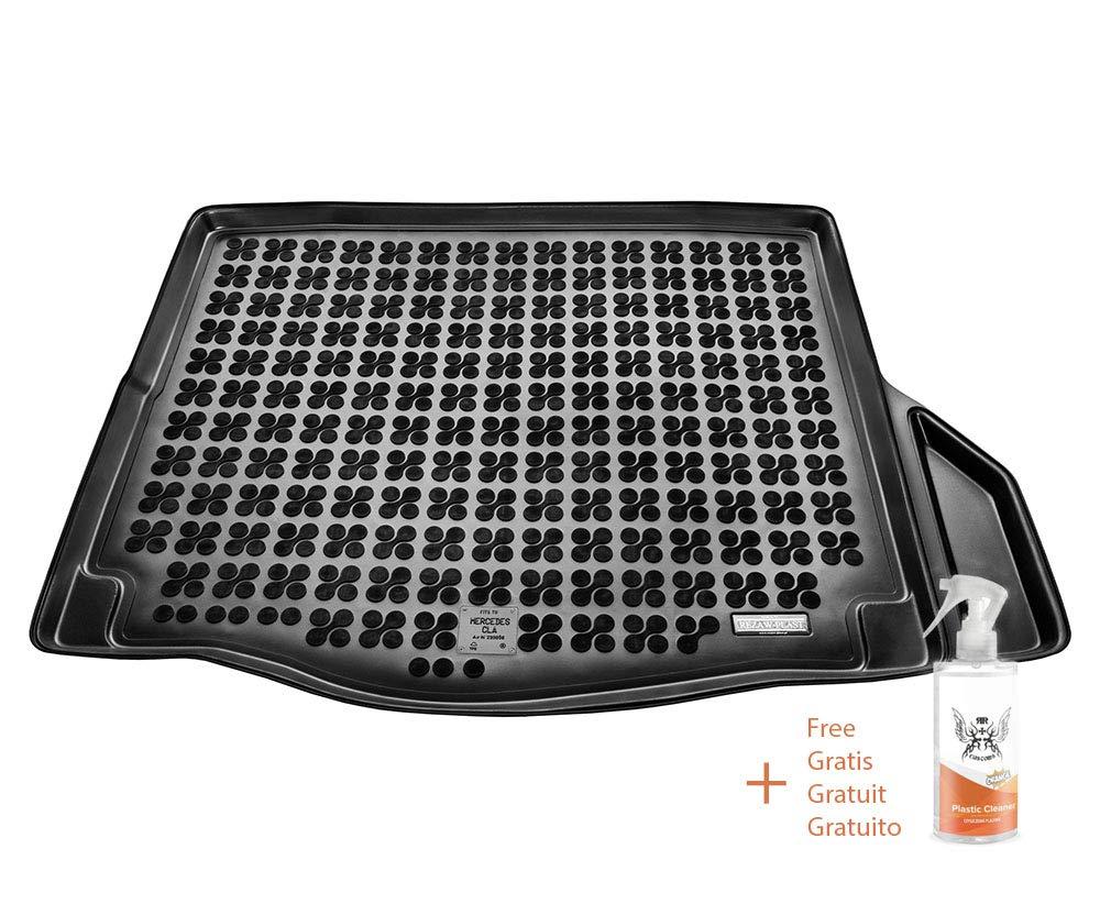 Regalo + Limpiador de Plasticos Desde 2013 Cubre Maletero de Goma Compatible con Mercedes CLA
