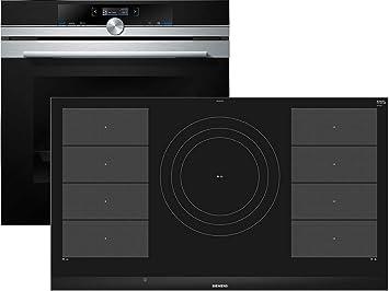 Siemens eq2z088 Juego pyrolyse del Horno hb673g0s1 + Inducción vitrocerámica ex975lvc1e: Amazon.es: Hogar