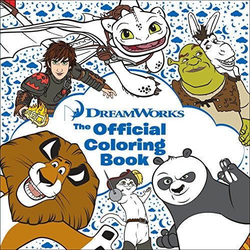 DreamWorks: The Official Coloring Book (Adult Coloring Book) by Random House