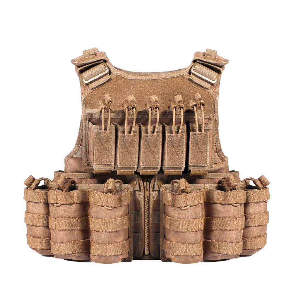 DENGENHUI Dschungelbasis Taktische Weste Multifunktion Kampf Im Freien Reale Person CS-Feld Trainingsbekleidung