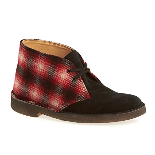 Originals Womens Desert Boot Red Combi Textile 3 UK  Amazon.co.uk  Shoes    Bags 9ae89c57c