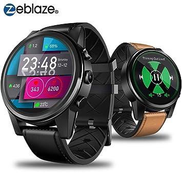 Zeblaze THOR 4 PRO 4G, Reloj Inteligente con GPS de 1.6 Pulgadas ...