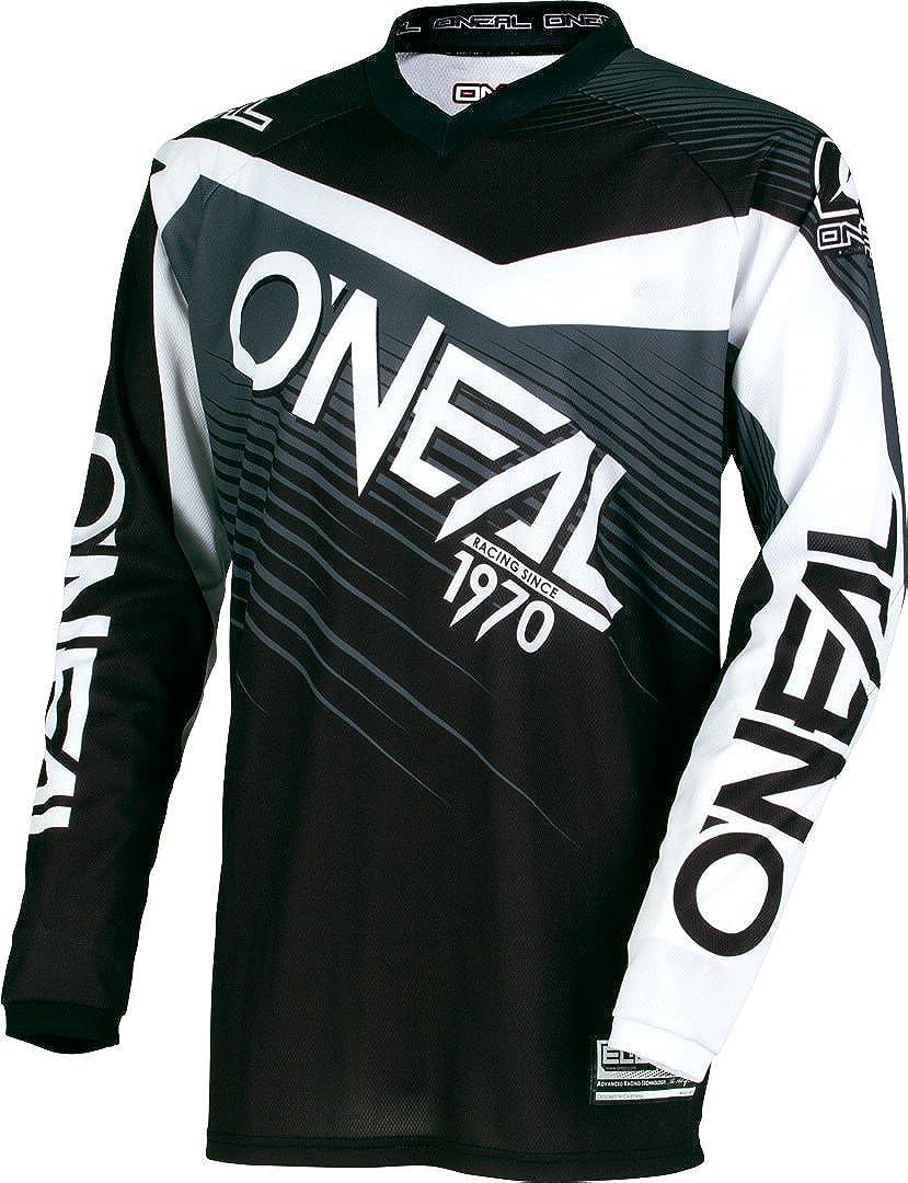 Jersey de manga larga MTB ni/Ã/±o Oneal 2018 Element Racewear Negro-gris