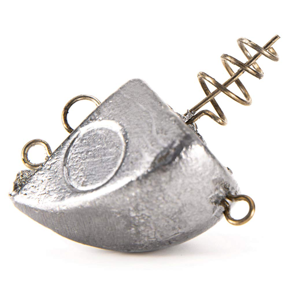 Lixada 30g 40g Cabeza de Plomo Universal Contrapeso Crank Hook Jig Head Accesorios de Pesca con Mosca Carpa Pesca