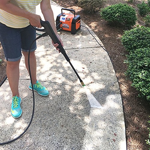 Yard Force 1600 PSI 1.2 GPM All-in-1 Electric Power Pressure Washer