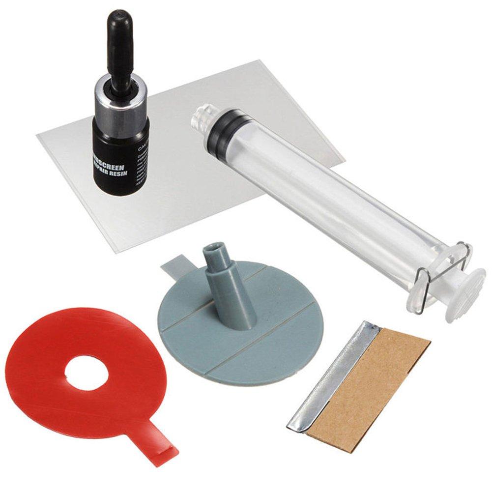 Auto Windschutzscheibe Repair Tools Kit DIY Glas Reparatur-Set Auto Glas fü r Chip Risse Windschutzscheibe Glas Kratzer Kratzer Reparatur Kits MOOUK