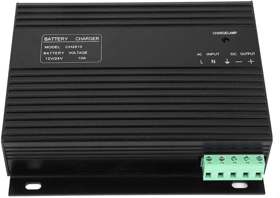 FTVOGUE CH2810 12V/24V 10A Generador diesel Genset Cargador de batería inteligente