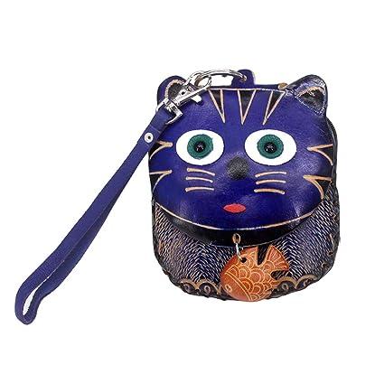 BIGBOBA Pequeño de Monederos Forma de Gato-Dibujos Animados ...