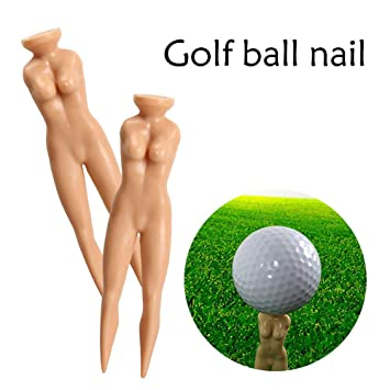 Nude golf tees