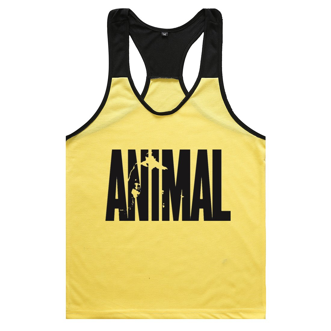 YeeHoo Cut Open Sides Cotton Animal Muscle Stringer Vest Tank Top Workout xst83