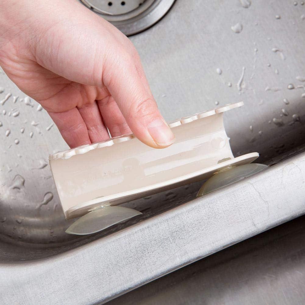PoeticHouse Geschirrt/ücher Rack Saug Schwamm Halter Clip Lappen Lagerregal Abfluss Und Bel/üftung Waschbecken Saugkorb Rack