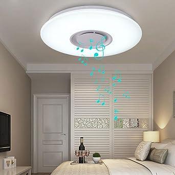 24W LED Deckenleuchte Integriert Bluetooth Musik Redner ...