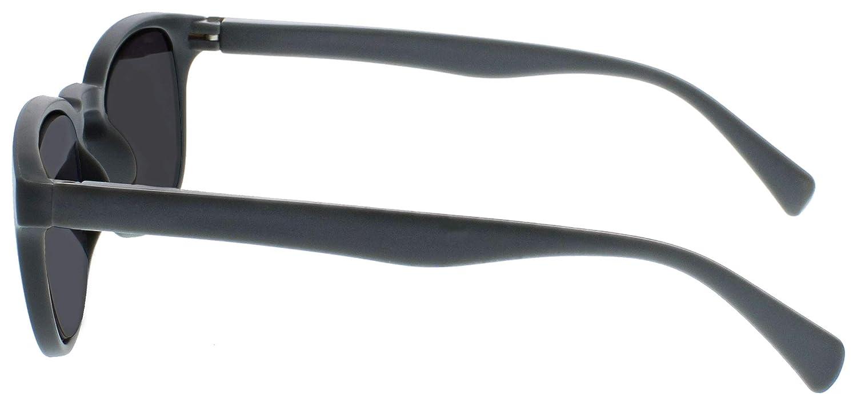 3,50 Opulize Pop Pacco Doppio Occhiali Da Lettura Lettori Sole Retr/ò Giro Nero Grigio Uomo Donna Cerniere Molla RS2-17