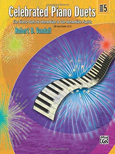 Piano Duet Sheet Music - Celebrated Piano Duets, Book 5