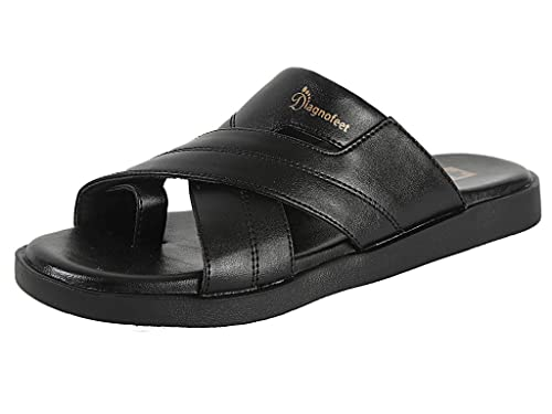 aad0511f92 RTS D2 Diagnofeet Men Black Orthopedic Accupressure Speciality Sandals -  Size 11: Buy Online at Low Prices in India - Amazon.in