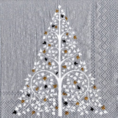 ideal-home-range-twinkle-tree-cocktail-napkins-silver-20-pack