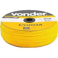 Corda Multifilamento Trançada 4 X 360 M, Amarela, Em Carretel, Vonder Vdo2872 Vonder