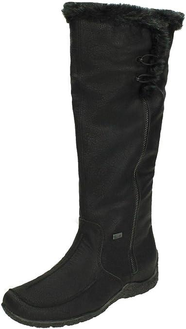 Rieker Damen 79954 Hohe Stiefel: : Schuhe & Handtaschen UmdhX