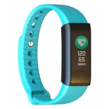 Pulsera Actividad, Pulómetro y Podómetro Runing IP67 Demiawaking Fitness Tracker Reloj Inteligente Deportiva Monitor de