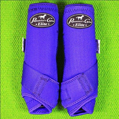 Professionals Choice Equine Sports Medicine Ventech Elite Front Leg Boot, Pair (Medium, Purple)