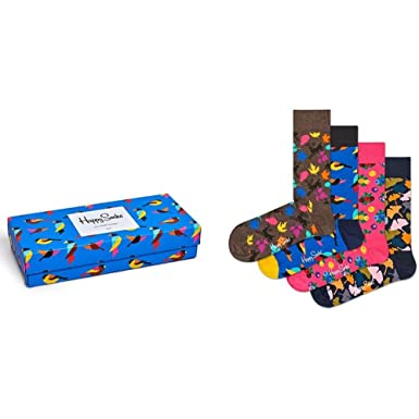 53e3a8dd2259 Happy Socks Men s Forest Gift Box Assorted Men s Shoe Size 10-13 at ...