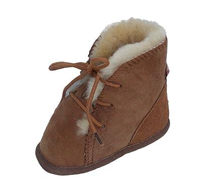best website af371 324b4 Chamier Lammfellprodukte Boys' Lammfell Baby Schuhe, Baby ...