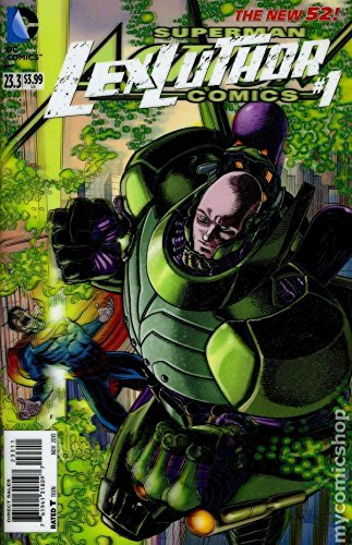 Action Comics #23.3 Lex Luthor (3D Cover) Text fb2 ebook