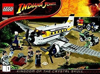 Buy Instruction Manuals For Lego Indiana Jones Set 7628 Peril In