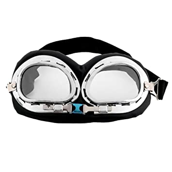 LanTu Seguridad Caliente Anti-UV Motocicleta Vespa Piloto Casco Gafas Gafas de Motocross Accesorios para