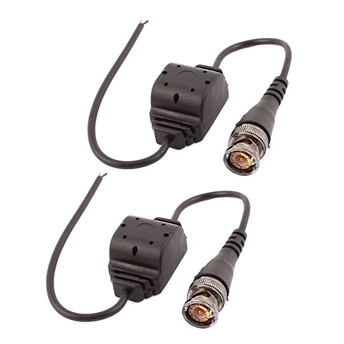 Amazon.com: DealMux 10 pares NVL-208B HD Video Balun Transceiver UTP Transmissão Male BNC Adaptador: Electronics