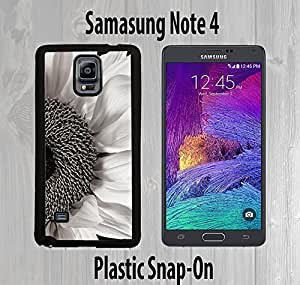 Black And White Sunflower Custom made Case or Cover skin FOR Samsung Galaxy Note 4 Black Case iphone case lifeproofiphone...